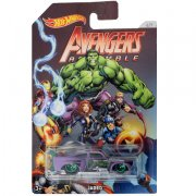 HOT WHEELS AUTÍČKO AVENGERS HULK JADED
