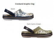 Crocband Graphic Clog W8 38/39