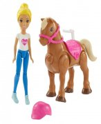 Barbie MINI Panenka a pony