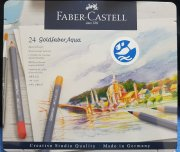Faber Castell - 24 goldfaber Aqua pastelky