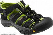 Sandálky Keen NEWPORT black/lime green US 2