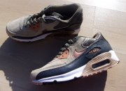 nike air max 90 iron metallic red bronze