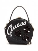 Kabelka GUESS Britta Embellished Round Mini Satche