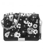 Kabelka MICHAEL KORS Jade Floral Sequined Leather