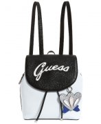 Batoh GUESS Varsity Pop Logo Pin Up Small Backpack
