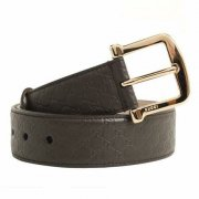 Gucci Guccissima Women Leather Belt - Grey