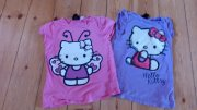 2 X TRIČKO/TRIČKA HELLO KITTY