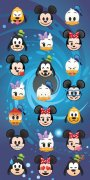 Osuška Disney Emoji MIckey a Minnie