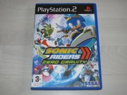 Playstation 2 Hra  SONIC RIDERS zero gravity