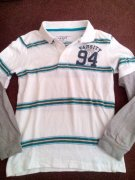 OLD NAVY polo triko dlouhy rukav 128 7-8let