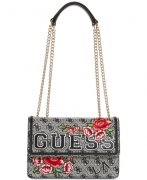 Kabelka GUESS Vikky Convertible Logo Crossbody