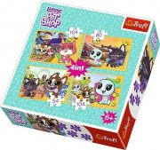Puzzle 34295 Littlest Pet Shop 4 v 1, 35, 48, 54,