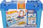 HOT WHEELS DRÁHA TRACK BUILDER BOX KASKADÉRSKÉ KOU