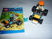 LEGO CHIMA 30253 LEONIDOVA ČTYŘKOLKA DO DŽUNGLE