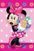 Flees deka Deka Minnie flower