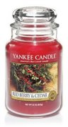 Red Berry Cedar velký classic Yankee candle