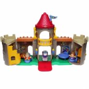 FISHER PRICE Little people - Hrad + doplňky