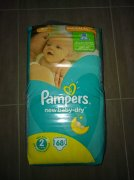 Pleny Pampers new baby - dry 3-6kg