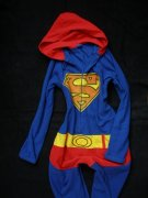 !! SUPERMAN OVERAL FLEECE vel. XS !!