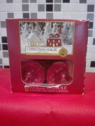 12 x vonna svicka YANKEE CANDLE Christmas Magic