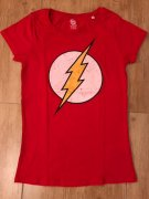 Tricko DC Comics Flash distressed