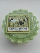 Vonny vosk YANKEE CANDLE Olive & Thyme 22 g
