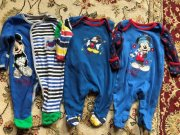 3x mickey new born overálky disney