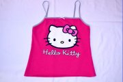 Super malinový top Hello Kitty, vel. XS