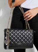 GUESS Victoria Quilted Convertible Crossbody