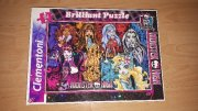 Puzzle monster high třpyt