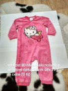SAMETOVÝ OVERAL HELLO KITTY