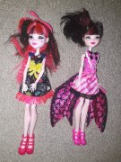 Monster High Draculaura 2ks