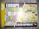 PUZZLE - Europe / Czech republic