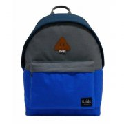 Batoh G.RIDE AUGUSTE grey/blue 16L
