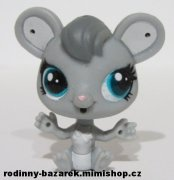 LITTLEST PET SHOP  myš  Pack Lefty Silverstein LPS
