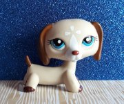 LPS LITTLEST PET SHOP jezevčík