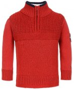 Svetr Tommy Hilfiger Baby Boys Cotton Knit Sweater