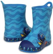 Holiny Crocs Bump It Rain Boot Finding Dory Ocean