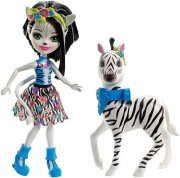 ENCHANTIMALS set Hofette a zebra Zelena