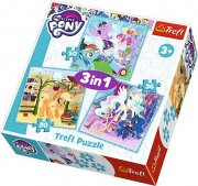 Puzzle  34843 My little Pony,  Luna 3v1,  20,  36,  50