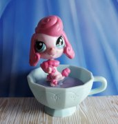 LPS LITTLEST PET SHOP pudlík