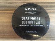 "NYX ""Stay Matte But Not Flat"" Powder Found"