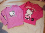 2x trička s Hello Kitty