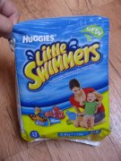Plenky do vody Huggies Little Swimmers
