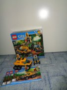 LEGO CITY 60159 - OBRNĚNÝ TRANSPORTÉR DO DŽUNGLE