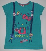ZELENÉ TRIKO HELLO KITTY SANRIO GEORGE