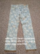 RIFLE DENIM S VISAČKOU