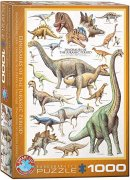 EurographicsPuzzles Natural History - Dinosaurs