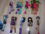 Monster High - Clawdeen, Lagoona, Cleo...