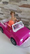 BARBIE jeep + Ken + delfín